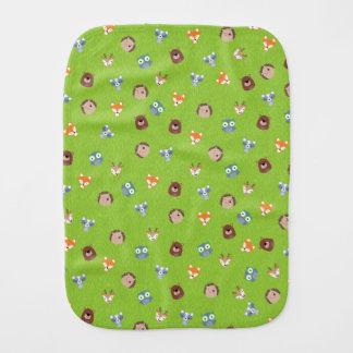 森林友人-キツネくまのアライグマのハリネズミのシカ バープクロス
