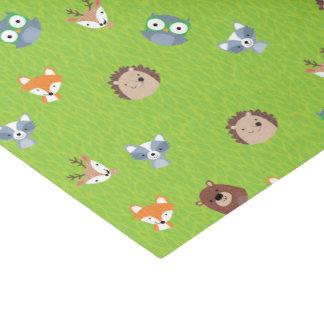 森林友人-キツネくまのアライグマのハリネズミのシカ 薄葉紙