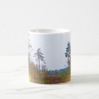 森林場面 コーヒーマグカップ