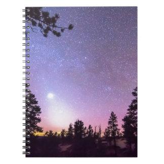 森林夜星の歓喜 ノートブック