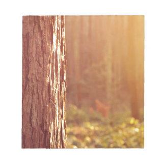 森林夢のメモ帳 ノートパッド