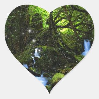 森林夢 ハートシール