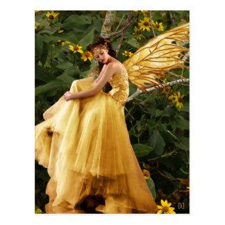 森林妖精の郵便はがき ポストカード