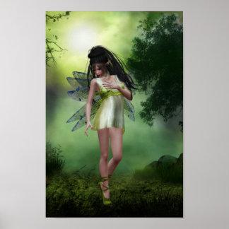 森林妖精ポスター ポスター