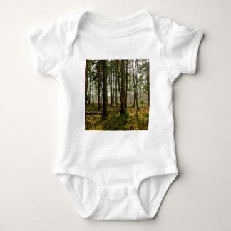森林孤独な森 ベビーボディスーツ
