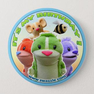 森林寓話の誕生日ボタン 10.2CM 丸型バッジ
