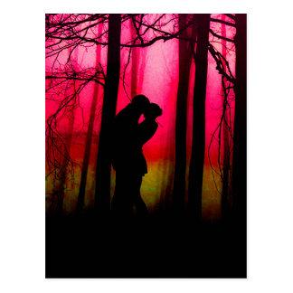 森林恋人 ポストカード