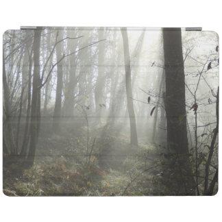 森林朝の霧のiPadカバー iPadスマートカバー