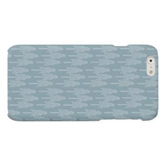 森林松の木の箱-静かに青 マットiPhone 6ケース