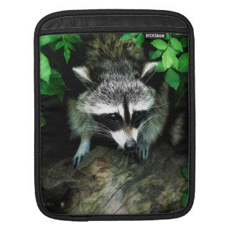 森林森の自然のアライグマ、iPad Miniスリーブ iPadスリーブ
