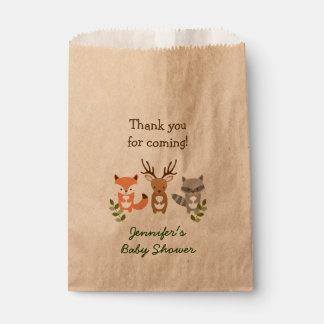 森林森林動物のパーティの記念品のバッグ フェイバーバッグ