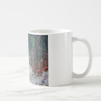 森林歩行、ヨークシャ、イギリス コーヒーマグカップ