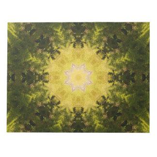 森林知識の曼荼羅 ノートパッド