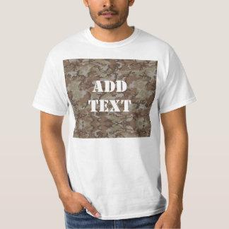 森林砂漠MilitaryCamouflage Tシャツ