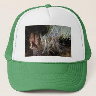 森林端で見ている妖精 キャップ