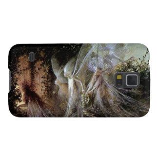森林端で見ている妖精 GALAXY S5 ケース