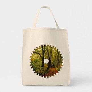 森林自然のギアのバッグ トートバッグ