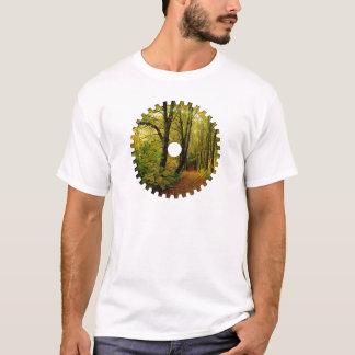 森林自然のギアのTシャツ Tシャツ
