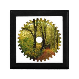 森林自然のギア スクエアギフトボックス小