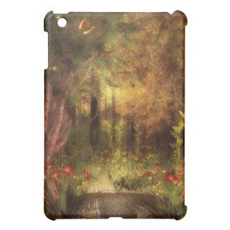 森林自然の蝶 iPad MINIケース
