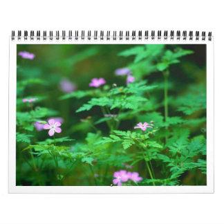 森林花 カレンダー