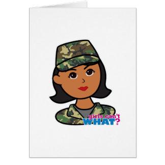 森林軍隊のカムフラージュ カード