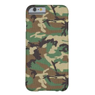 森林軍隊の迷彩柄のiPhone 6のやっとそこに場合 iPhone 6 ベアリーゼアケース