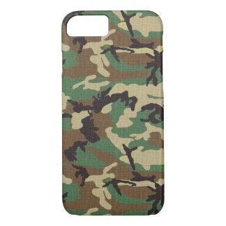 森林軍隊の迷彩柄のiPhone 7のやっとそこに場合 iPhone 8/7ケース