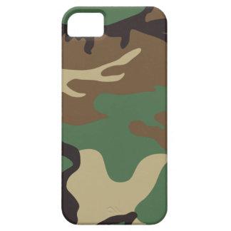 森林迷彩柄のカムフラージュのiPhone 5の場合 iPhone SE/5/5s ケース