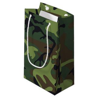 森林迷彩柄 スモールペーパーバッグ