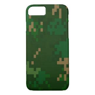 森林迷彩柄 iPhone 7ケース