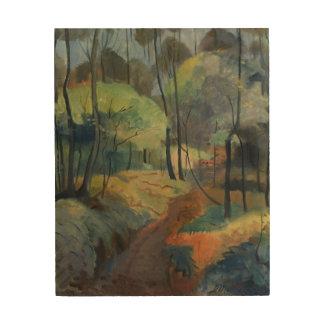森林道1920年 ウッドウォールアート