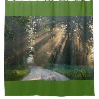森林道 シャワーカーテン