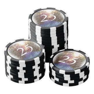 森林道 ポーカーチップ
