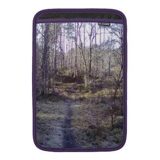 森林道 MacBook スリーブ