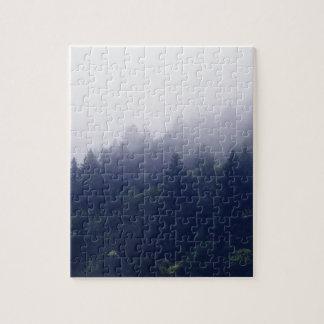 森林霧 ジグソーパズル