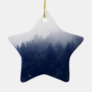 森林霧 セラミックオーナメント