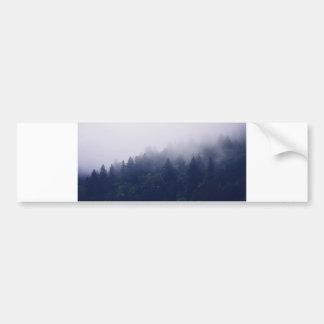 森林霧 バンパーステッカー