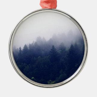 森林霧 メタルオーナメント
