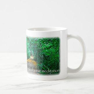 森林黙想 コーヒーマグカップ