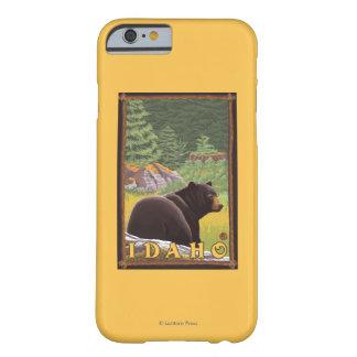森林-アイダホのツキノワグマ BARELY THERE iPhone 6 ケース