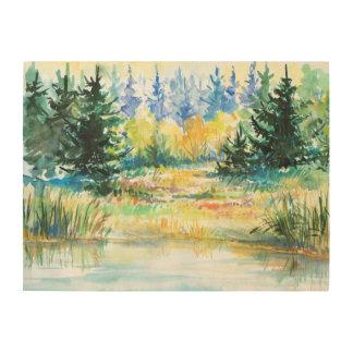 森林 ウッドウォールアート