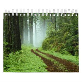 森林 カレンダー