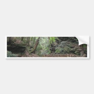 森林 バンパーステッカー