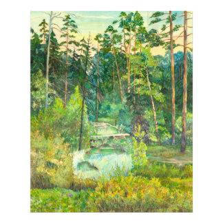森林 フォトプリント