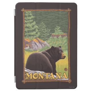 森林-モンタナのツキノワグマ iPad AIR カバー