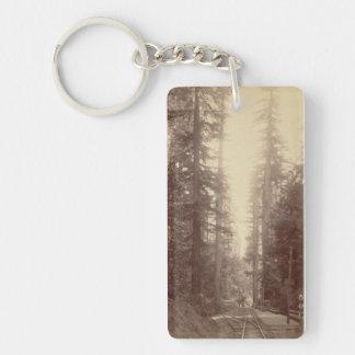 森林Keychain -鉄道Series#2の鉄道 キーホルダー