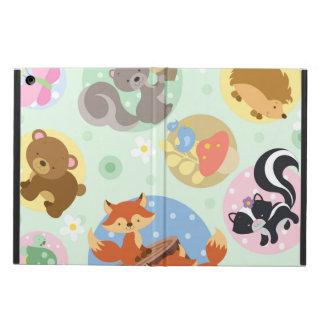 森林Kickstand無しの動物のiPadの空気箱 iPad Airケース