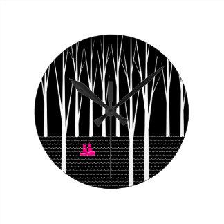 森 ラウンド壁時計
