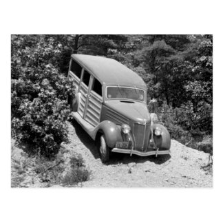 森、30年代のWoodie ポストカード